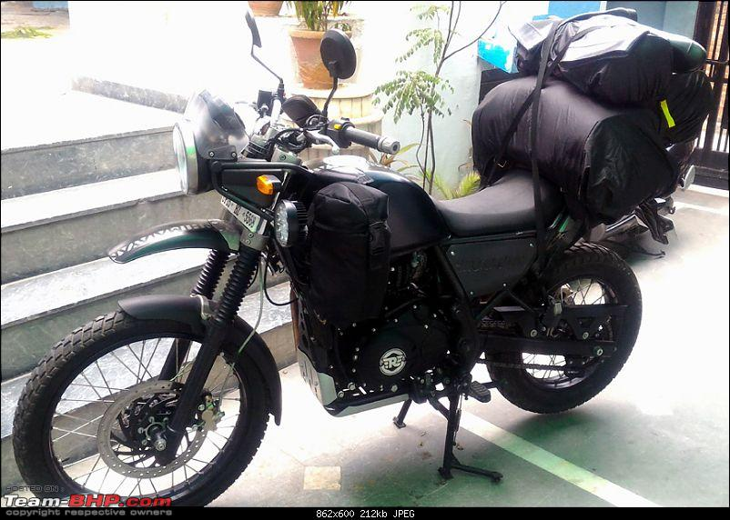 Royal Enfield Himalayan - Comprehensive Review of the 'Desi' Adventure Tourer-leh-departure_5.jpg
