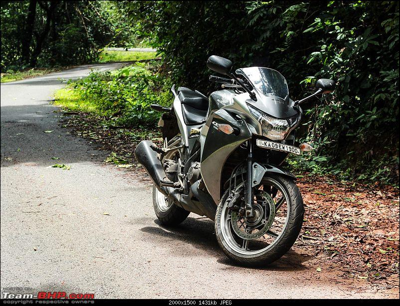 An affair with Hondas: Unicorn sold, now with a CBR 250R-bike_loop.jpg