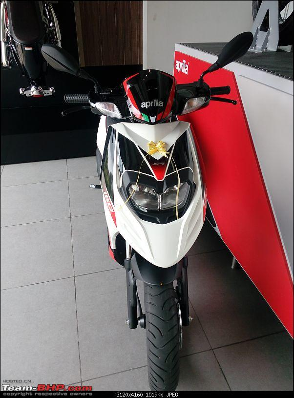 Aprilia SR 150 unveiled at the Auto Expo. EDIT: Priced at Rs. 65,000-photo_20160924_112412.jpg