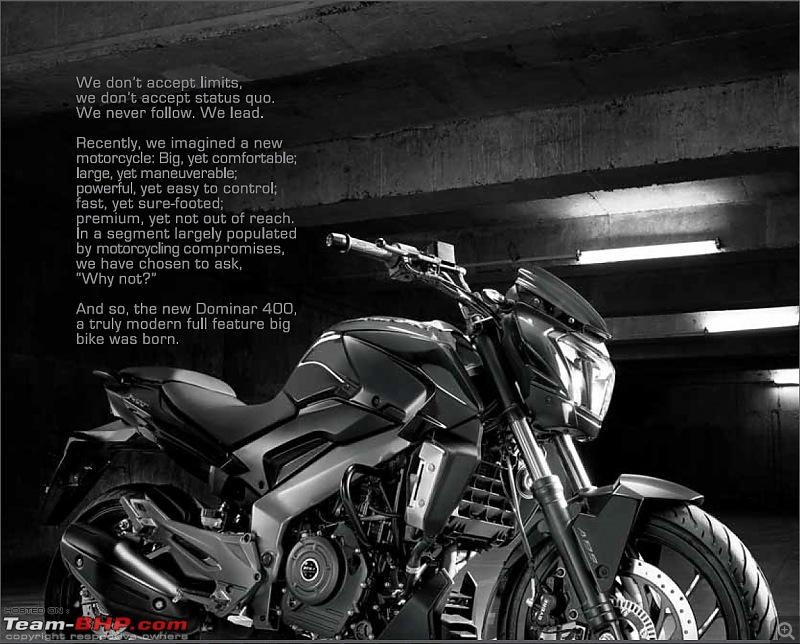Bajaj launches Dominar 400 at Rs. 1.36 lakh (Disc brake variant) & Rs. 1.5 lakh (ABS variant)-db6.jpg