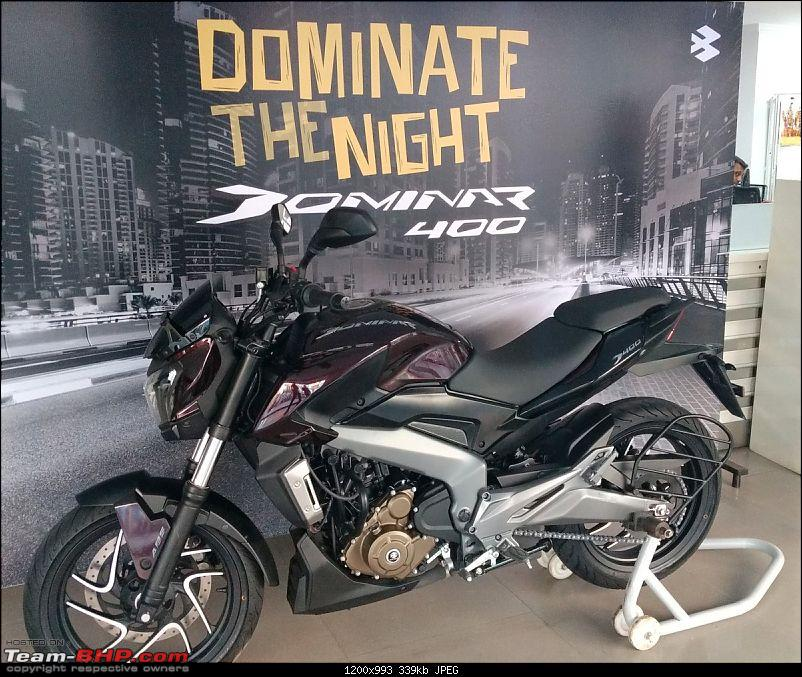 Bajaj launches Dominar 400 at Rs. 1.36 lakh (Disc brake variant) & Rs. 1.5 lakh (ABS variant)-img_20161224_170814532_crop.jpg