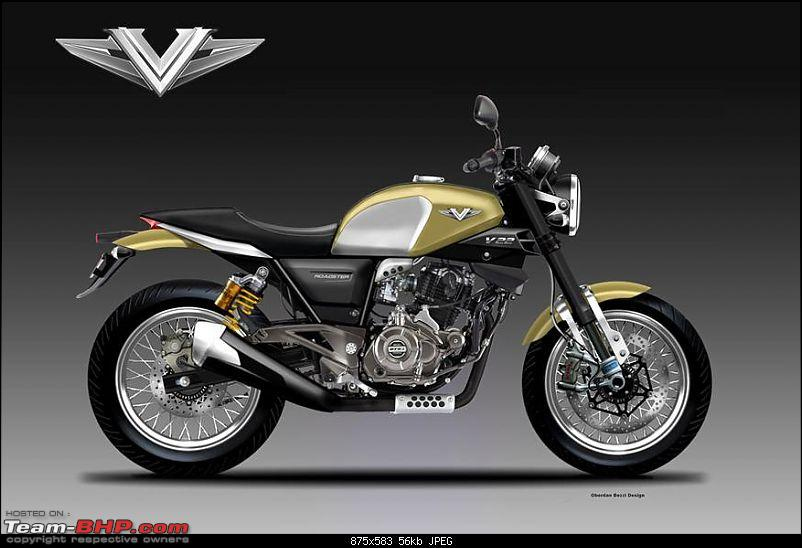The Bajaj V - A motorcycle made with INS Vikrant's steel-news1819.jpg