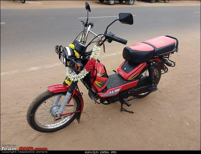 TVS XL 100 - Ownership Review-allwithroad.jpg