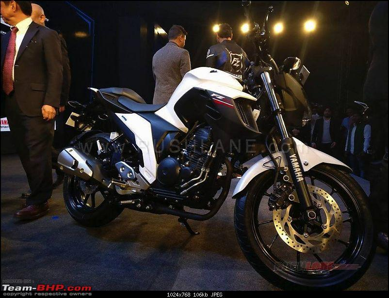 Yamaha teases new naked motorcycle. EDIT: FZ25 launched at
