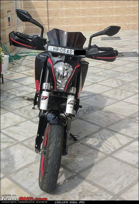 Custom wrap for my KTM Duke @ IDE Autoworks, Gurgaon-img_20170303_141827.jpg