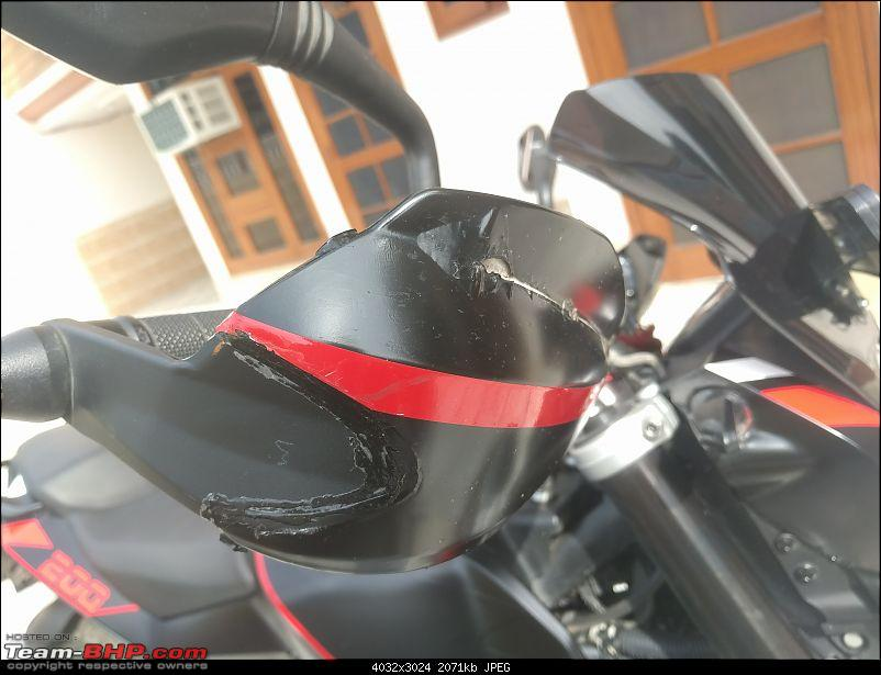 Custom wrap for my KTM Duke @ IDE Autoworks, Gurgaon-img_20170303_142024.jpg