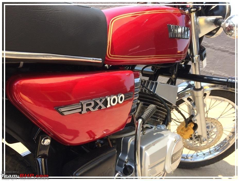 Yamaha RX100 restoration - From bits & pieces - Team-BHP