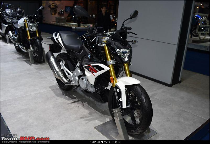 TVS-BMW 300cc motorcycle unveiled in stunting avatar! EDIT: Named G 310 R-front-three-quarter-right.jpg