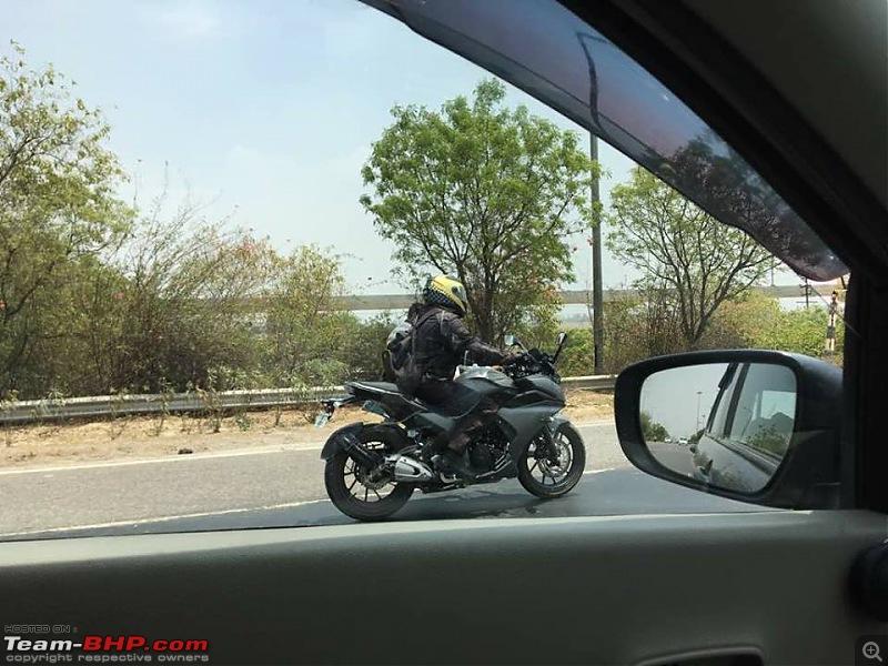 Yamaha Fazer 25 spotted testing in India-1.jpg
