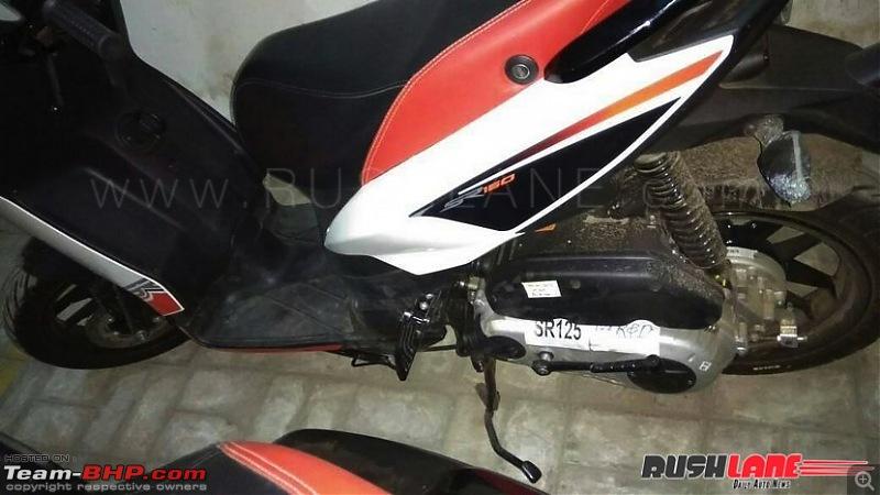 Rumour: Aprilia to add more scooters in the SR range. SR 125 spotted with ARAI stickers-apriliasr125india1.jpg