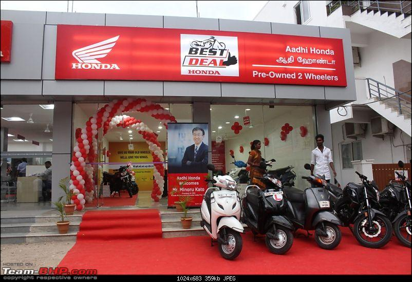 Just like Maruti True Value, Honda 2-wheelers is betting big on the pre-owned segment-150th-best-deal-aadhi-honda-coimbatore-tamil-nadu.jpg