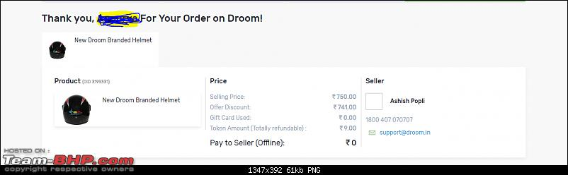 ISI Helmet for INR 9/- only! Droom.in sale on 15th June 2017-capture.png