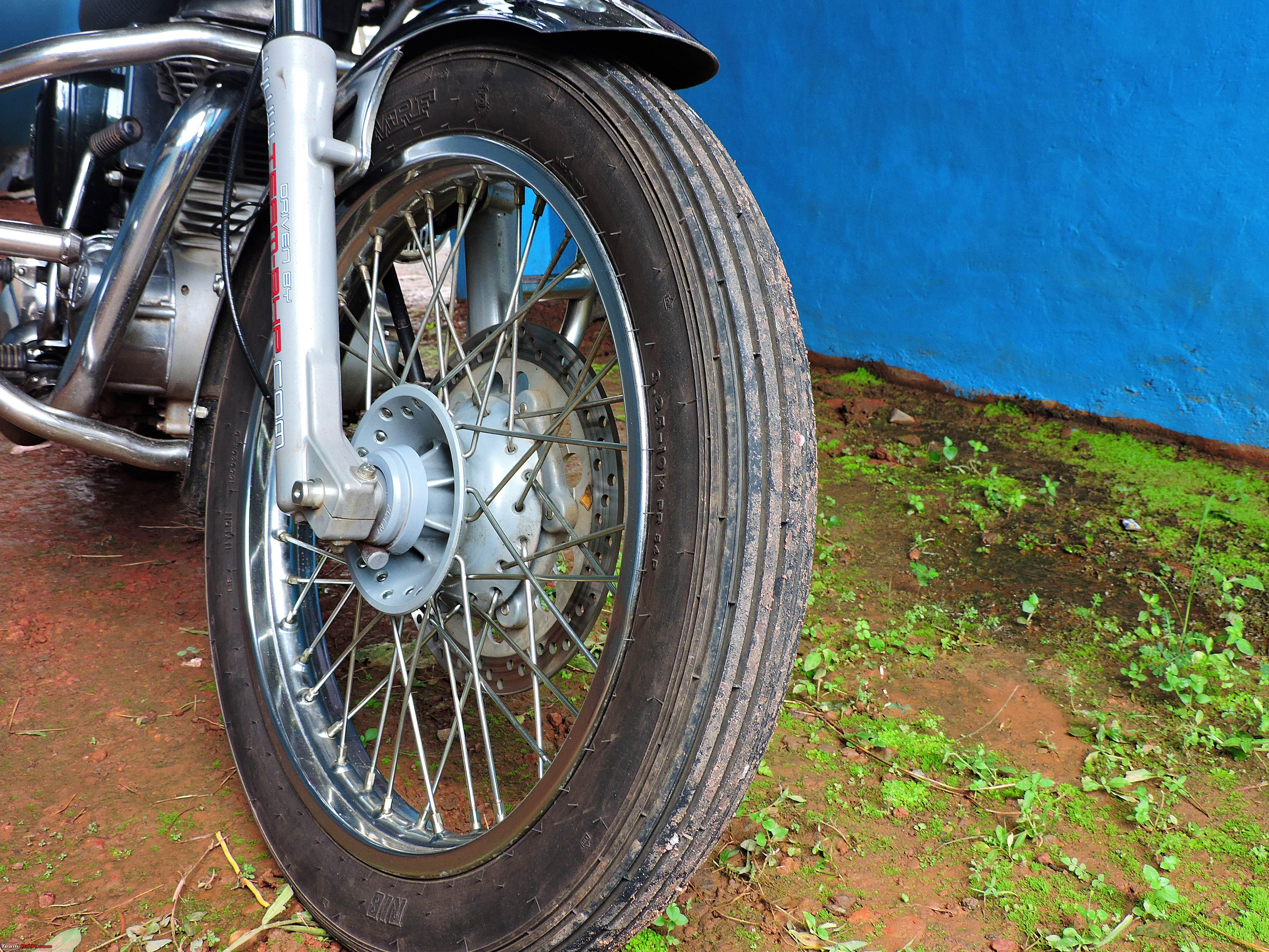 Ownership Review Royal Enfield Bullet 350 Es Team Bhp Diagram Electra Wiring In Addition 16frontwheel