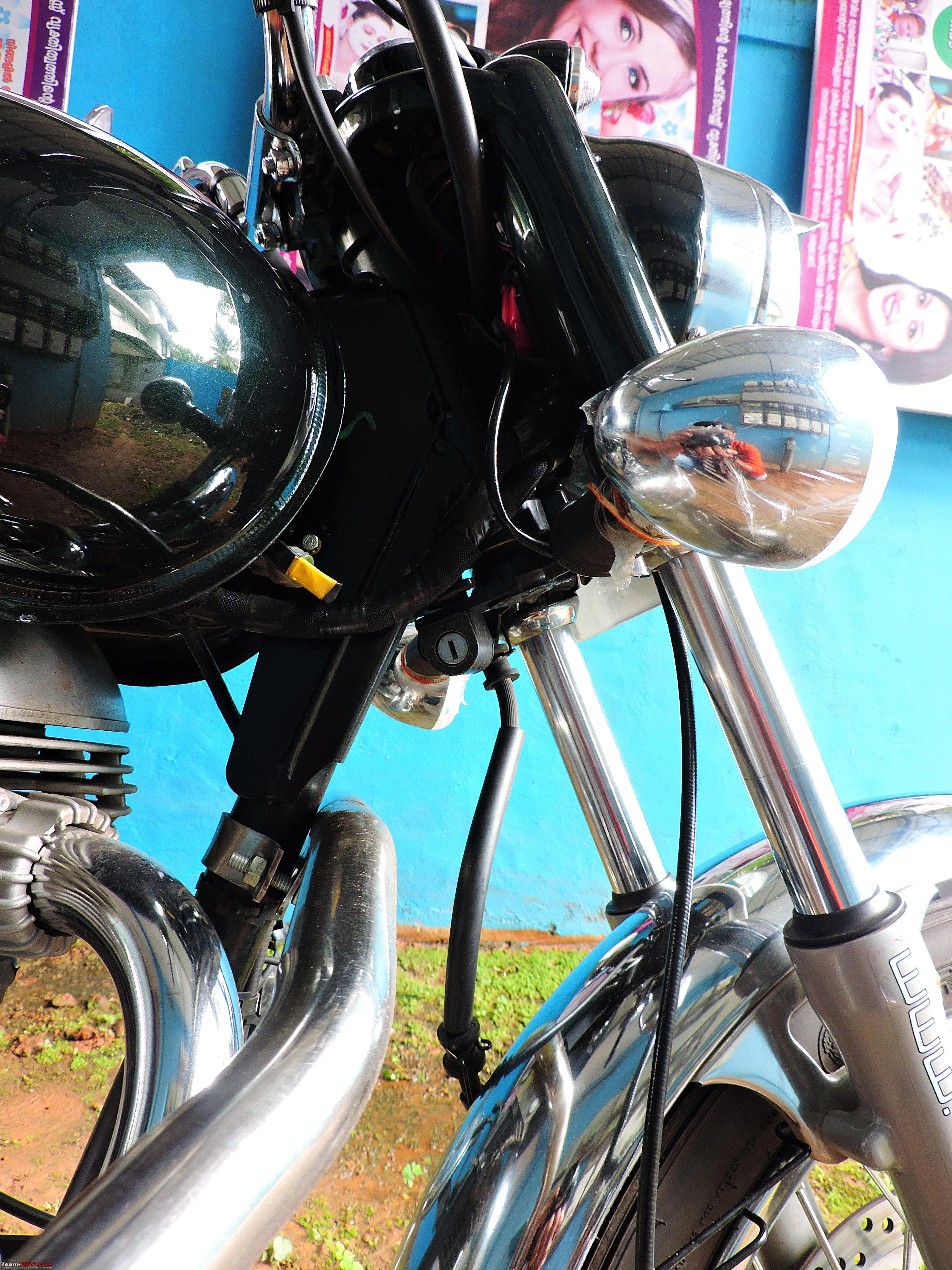 Ownership Review Royal Enfield Bullet 350 Es Team Bhp Diagram Electra Wiring In Addition 18handlelock