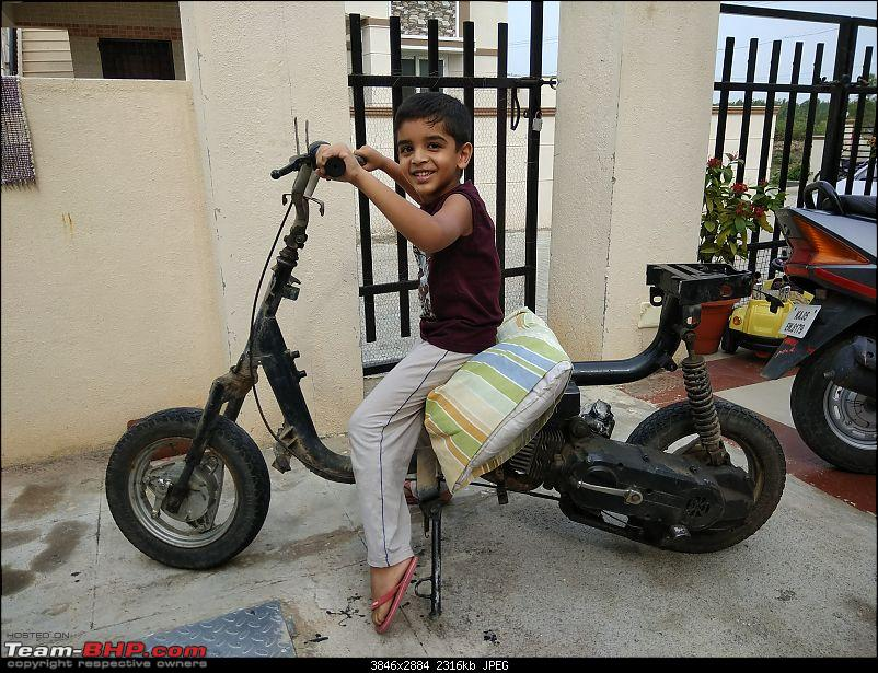 Building a 'Pocket Bike' out of a TVS Scooty ES-21may-2pm1.jpg