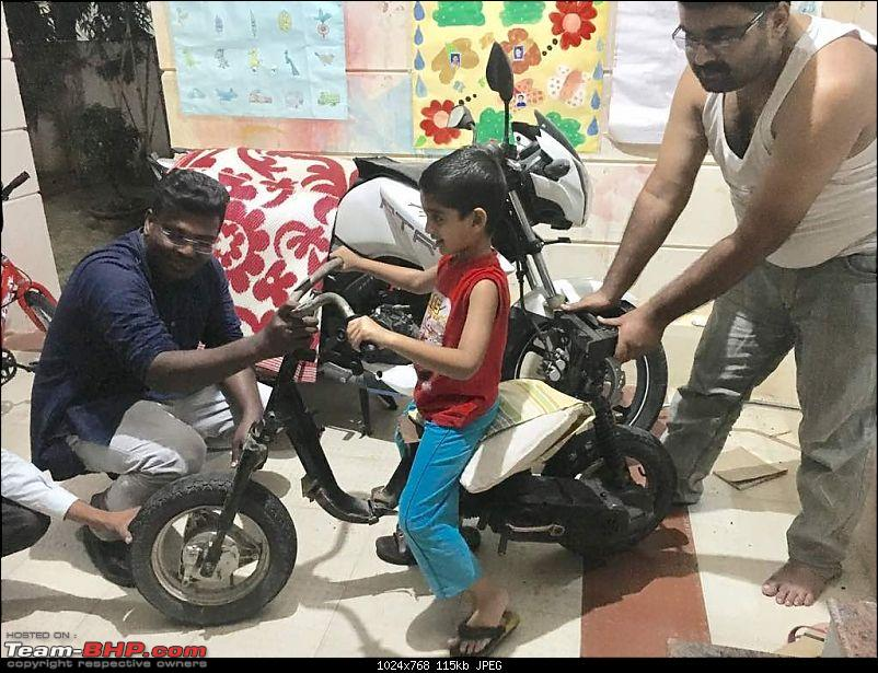 Building a 'Pocket Bike' out of a TVS Scooty ES-28may-7pm.jpg