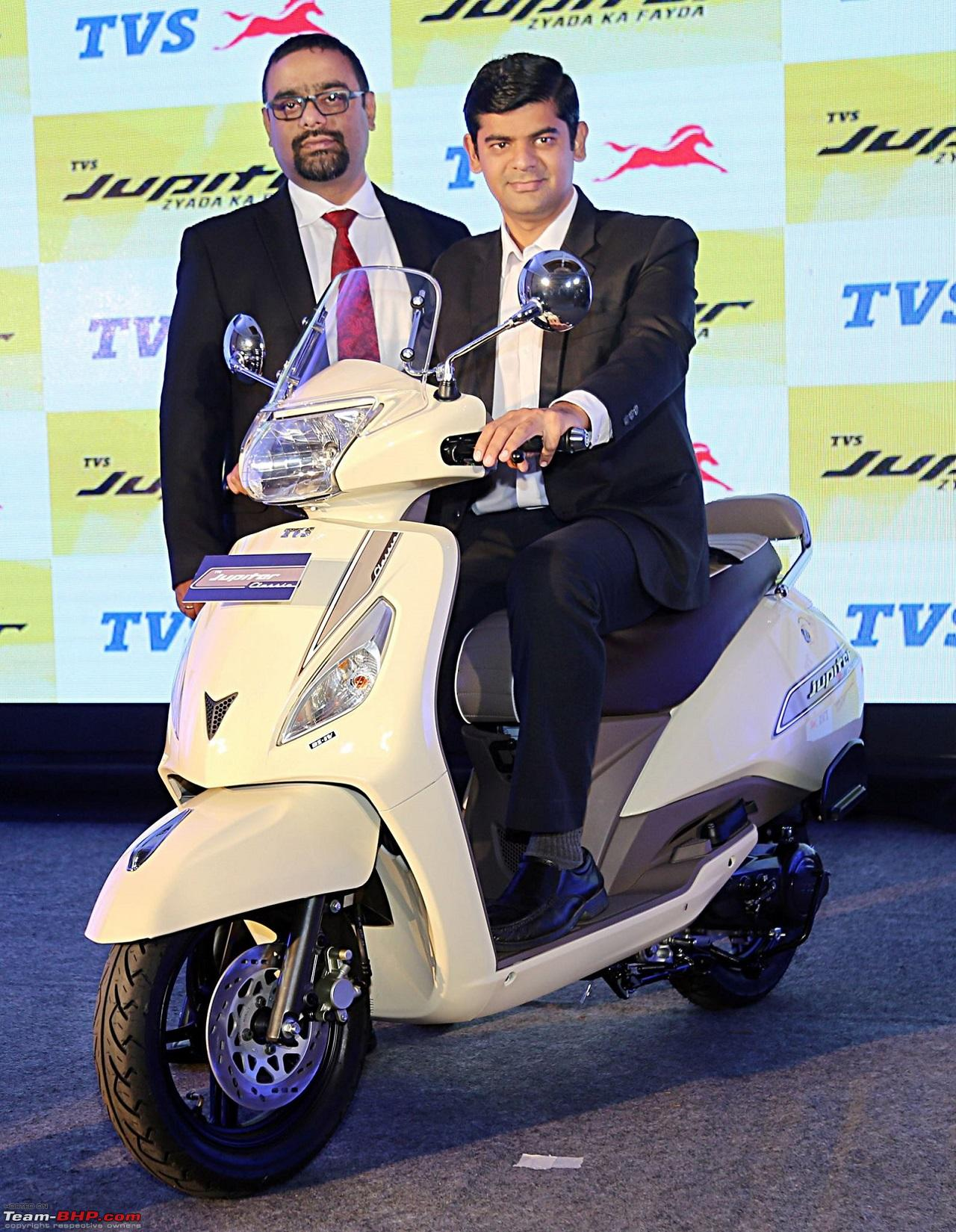 Tvs Jupiter Classic Edition Launched At Rs 55266 Team Bhp