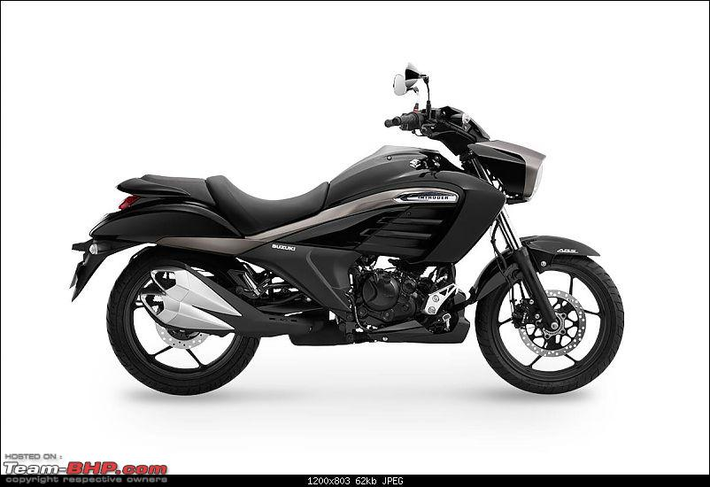 The Suzuki 155cc Intruder. EDIT: Launched at Rs. 98,340-blackangle1amitmin.jpg