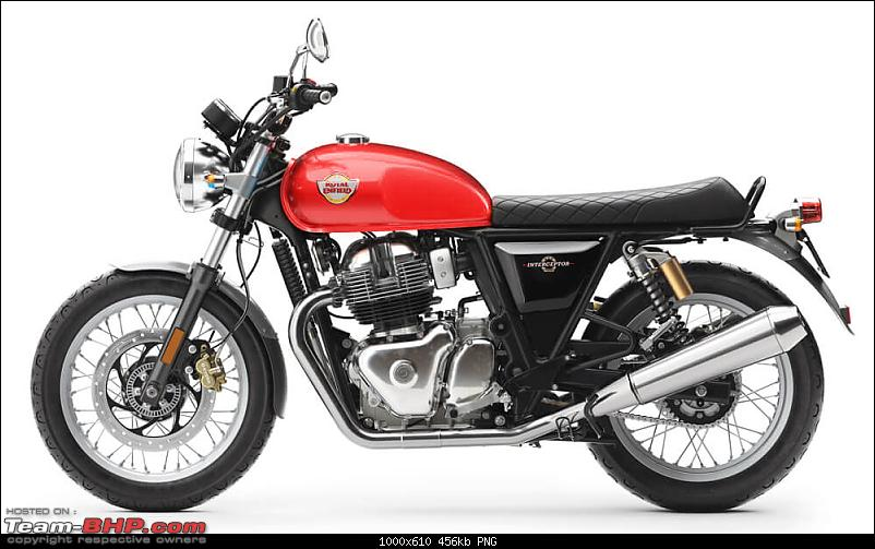 Royal Enfield unveils Interceptor & Continental 650 with new twin-cylinder engine-interceptorred2.png