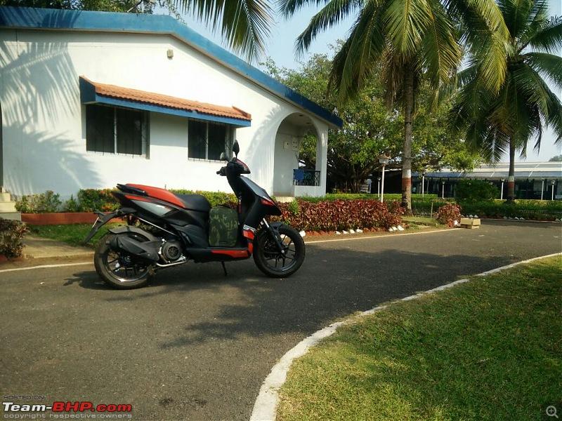 Buraq: My Aprilia SR 150-goa3.jpeg