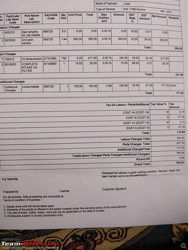 Buraq: My Aprilia SR 150-invoice.jpeg