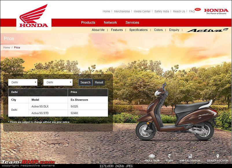 Honda Activa 5G listed on website. Priced at Rs. 52,460-activa-5g4.jpg