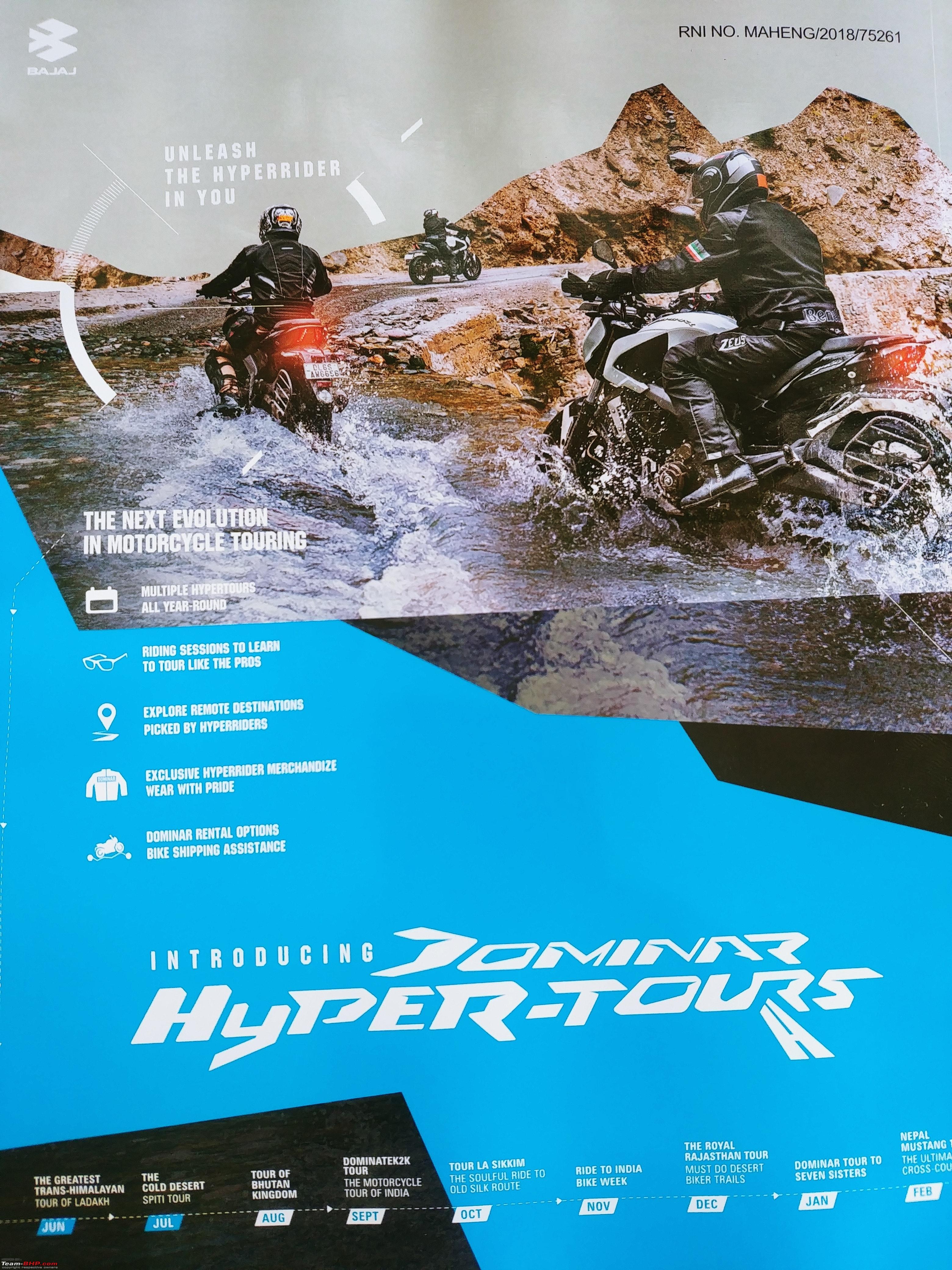Ridden: Bajaj Dominar 400 - Page 33 - Team-BHP