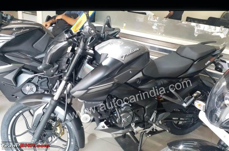 Bajaj Pulsar NS160 with rear disc brake spotted - Team-BHP