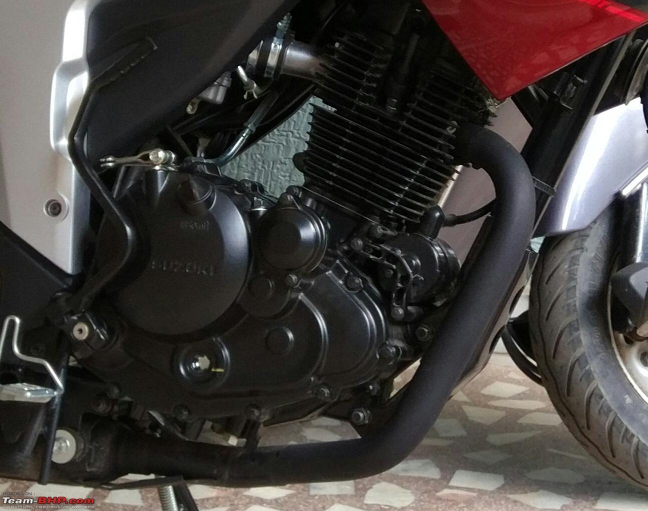 My new Red Dragon - Suzuki Gixxer ABS - Team-BHP