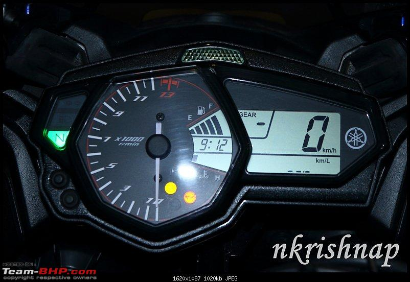 Yamaha YZF-R3 : Ownership Review-inst-mileage.jpg