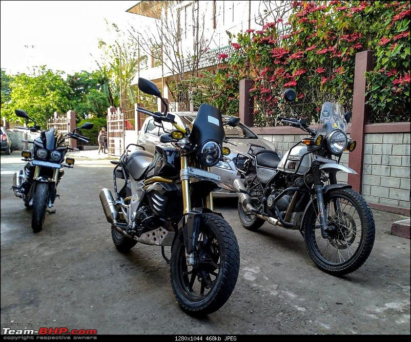When you can't afford that Tiger, you build one! My (Modified) Mahindra Mojo-3.jpg