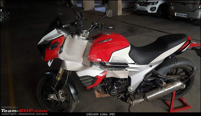 When you can't afford that Tiger, you build one! My (Modified) Mahindra Mojo-12.jpg
