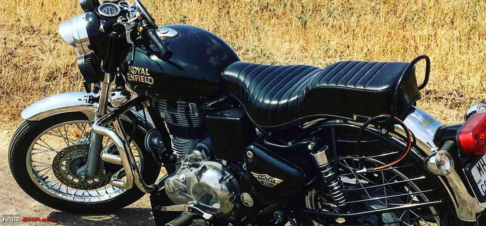 Royal Enfield Bullet 350 350 Es Launched At Rs 1 12 Lakh Team Bhp