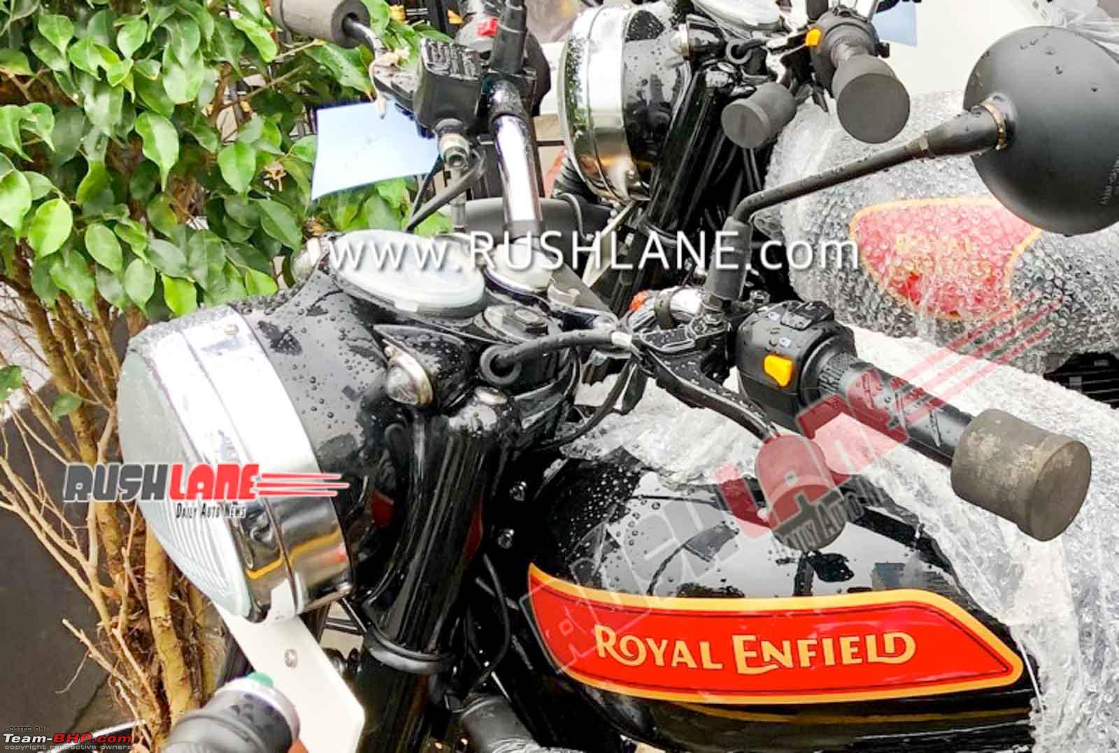 Bs6 Royal Enfield Classic 350 Spotted With New Decals Team Bhp