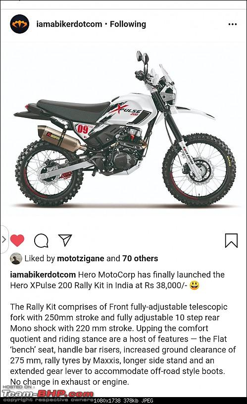 Hero teases small adventure bike. EDIT: It's the XPulse 200-screenshot_2020021812313701.jpeg