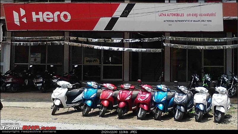 Hero MotoCorp to take back unsold BS4 stock from dealers. EDIT: Fake news-heromotocorpshowroom.jpg