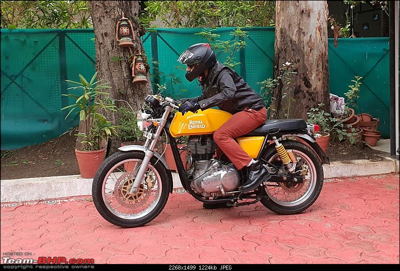 Royal Enfield Continental GT 535 : Ownership Review (27,000 km and 6 years)-20200614_075418.jpg