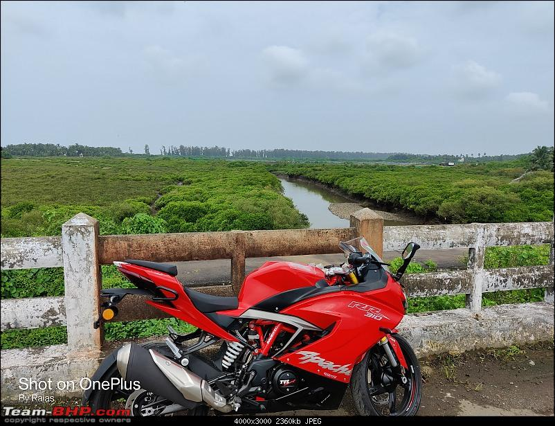 Lola is home - My TVS Apache RR310 BS6 ownership review-first-ride.jpg