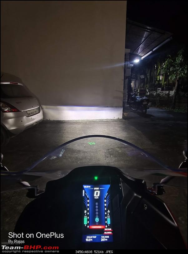Lola is home - My TVS Apache RR310 BS6 ownership review-low_beam.jpg
