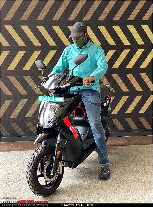 Ather 450X electric scooter with improved performance. EDIT: Launched, prices start at ₹99,999-image_2.jpg