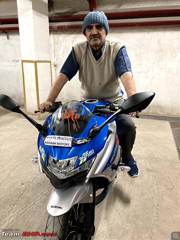 Back to biking - Suzuki Gixxer SF 250 MotoGP edition review-family5.jpg