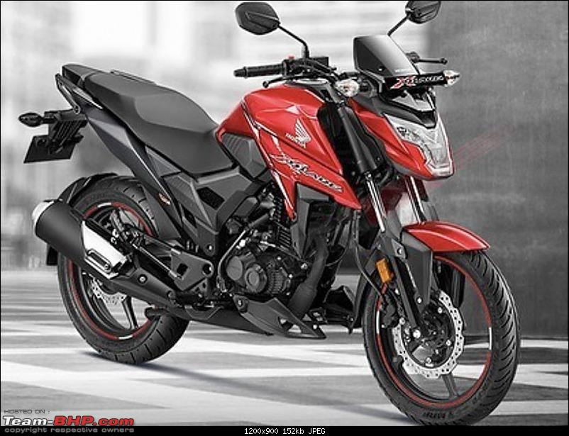 Indian two-wheelers with unconventional design / looks-hondaxblade.jpg