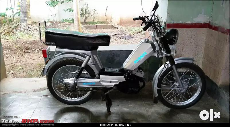 Indian two-wheelers with unconventional design / looks-avantigarellimoped.png