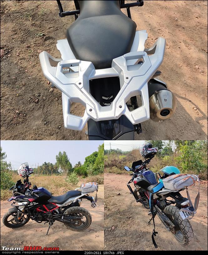 Reyah, The Lady of Bavaria | BMW G 310 GS BS6 Ownership Review-luggage-rack.jpg