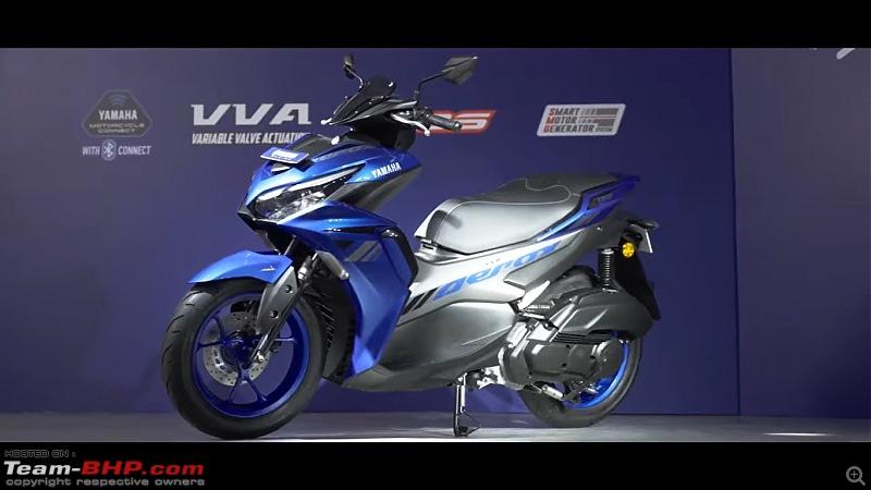 Yamaha Aerox 155 Scooter. Edit: Launched at 1.29 lakhs-20210921_120602.jpg