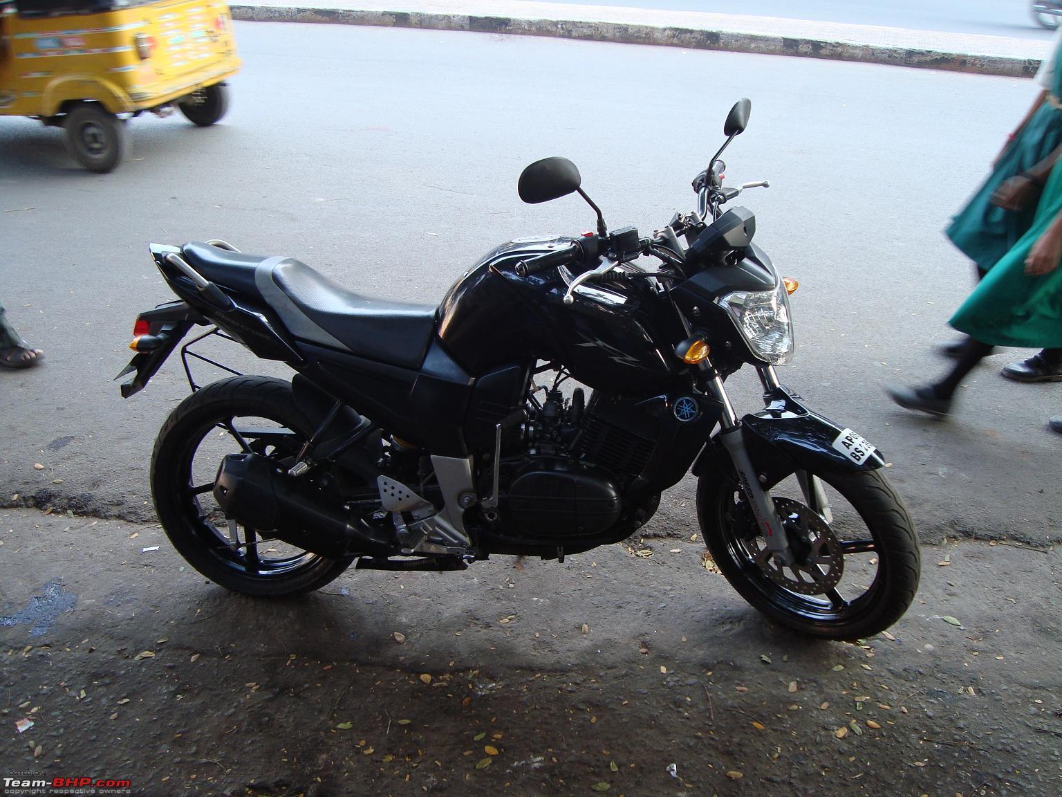 Yamaha fz350 team bhp for Yamaha 350cc motorcycles