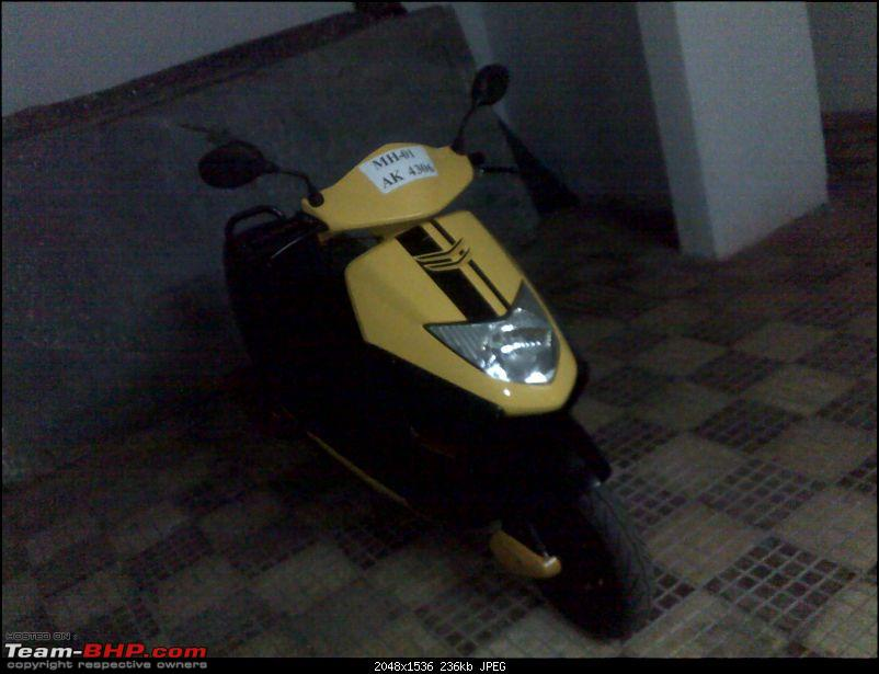 My Honda DIO!! My very Own Bumblebee, now with Carbon Fiber!-19122009270.jpg
