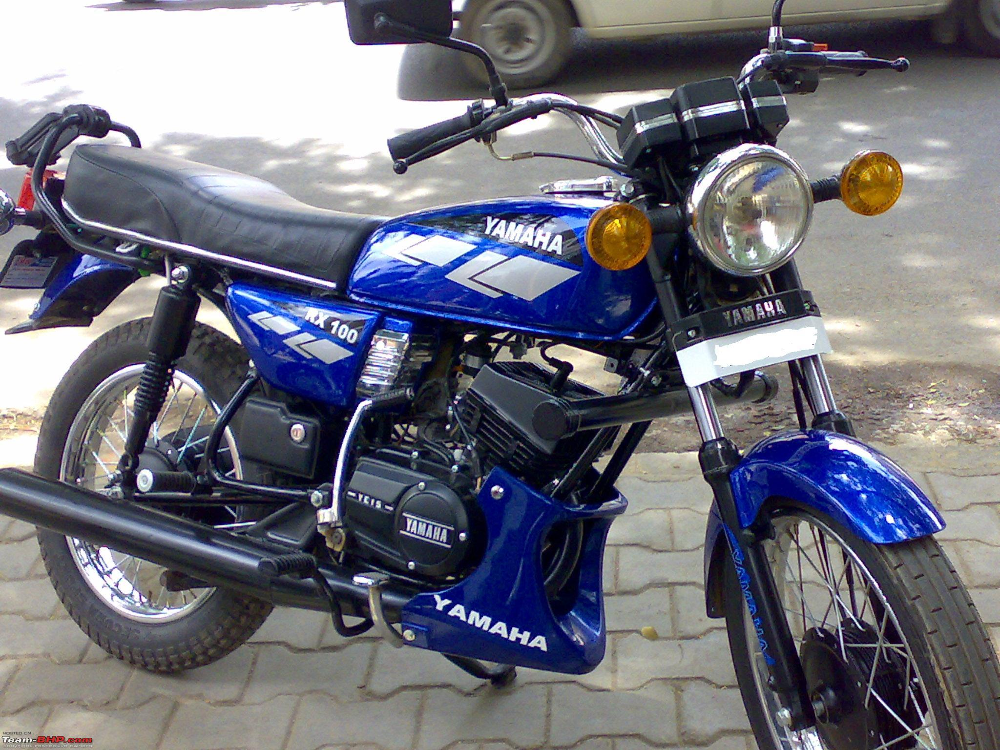 my yamaha rx100 cafe racer modification thread dec 09 back to