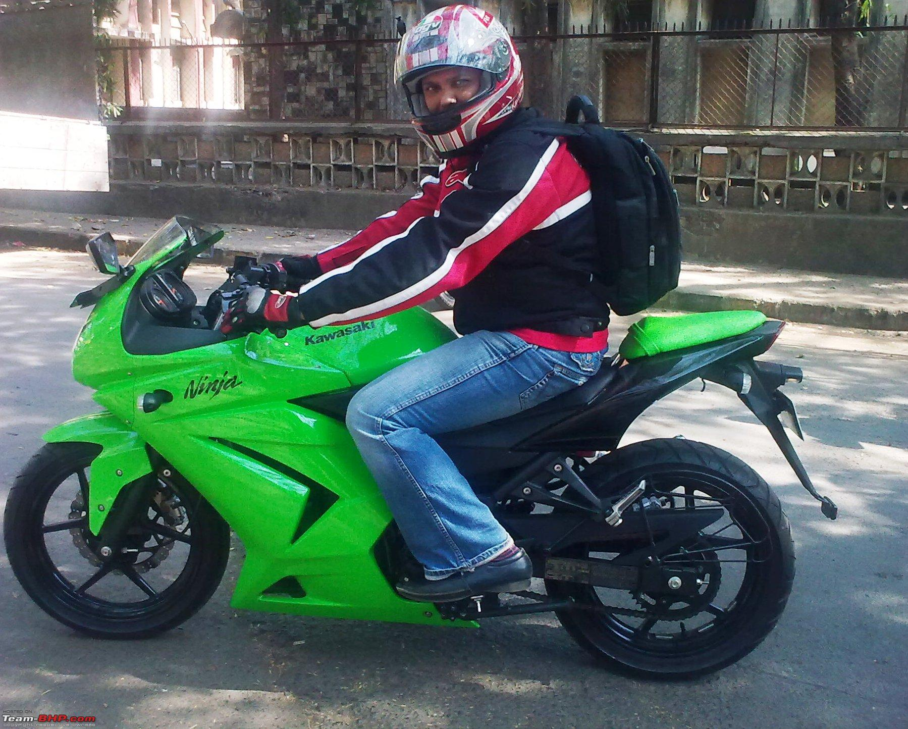 2010 Kawasaki Ninja 250R. EDIT - Launched at Rs. 2.7L Ex Showroom ...