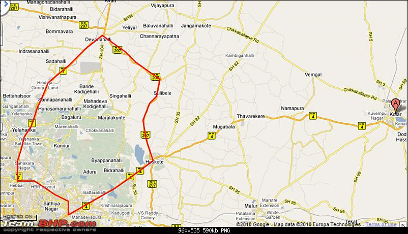 Bangalore - Sunday Morning Short Rides-hebbalhoskotedevanahalli.png